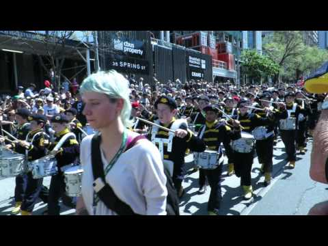 CSPS Drum Corp Grand Final Parade 2015 a