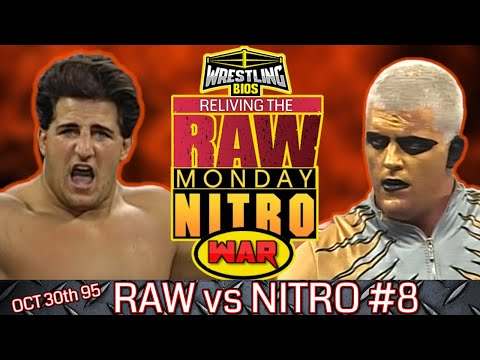 """Raw vs Nitro """"Reliving The War"""": Episode 8 - 30th Oct 1995 from YouTube · Duration:  26 minutes 43 seconds"""