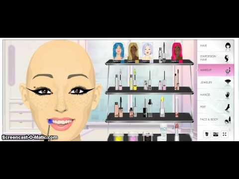 Stardoll Makeup Tutorial 1: Selena Gomez: Love you like a love song