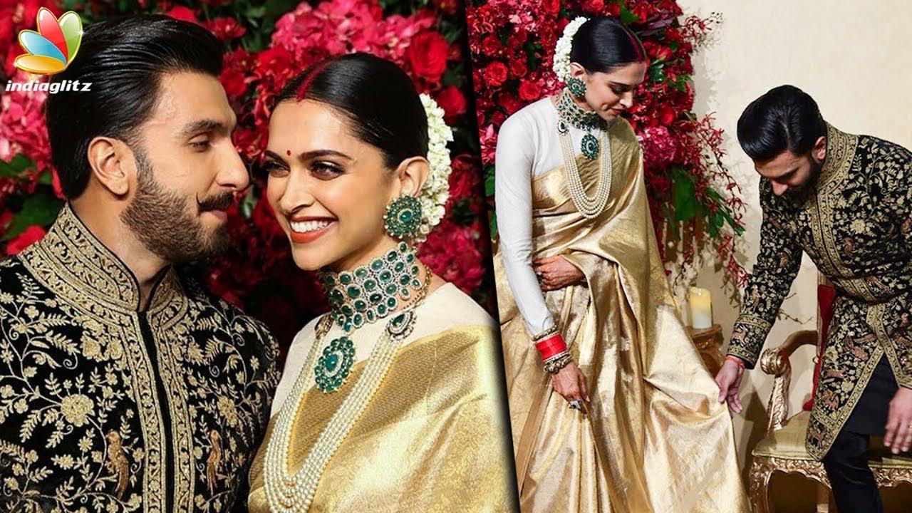 Deepika Padukone wears KANCHIPURAM SAREE for her WEDDING ...