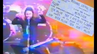 Metallica - Melbourne 03.04.1993