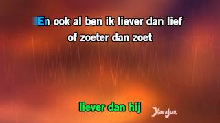 Karaoke Liever dan Lief - Gers Pardoel *