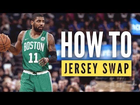 Basketball Jersey Swap Tutorial