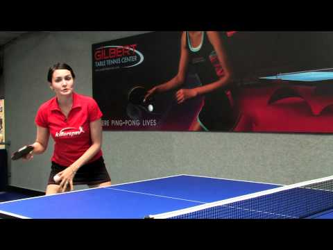 Table Tennis The Forehand Spin Stroke In Ping Pong Youtube