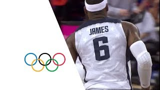 USA v AUS - Men's Basketball Quarterfinal | London 2012 Olympics