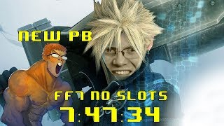 Final Fantasy VII (No Slots) Speedrun in 7:47:34 - PB by 00:01:24