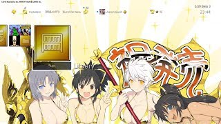 Senran Kagura Burst Re: Newal - Release Memorial Ver. Free PS4 Theme [JAPAN]