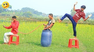 Indian New funny Video😄-😅Hindi Comedy Videos 2020-Episode-43--Indian Fun || Bindas Duniya