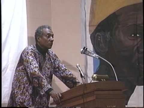 Cheyney University Guest Speaker Kwame Toure AKA Stokely Carmichael at Cheyney circa 1999