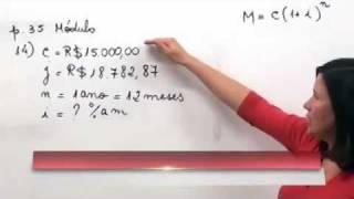 Matemática Financeira: 3 - Capitalização composta: cálculo da taxa de juros thumbnail