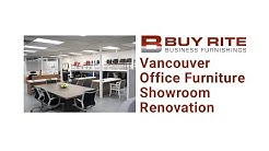 Buy Rite Business Furnishings | Vancouver Office Furniture Showroom Renovation