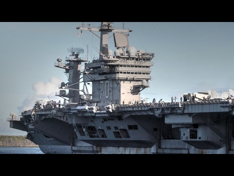 Famed Supercarrier USS Carl Vinson Arrives In Guam Ahead Of S. Korea-US Exercise