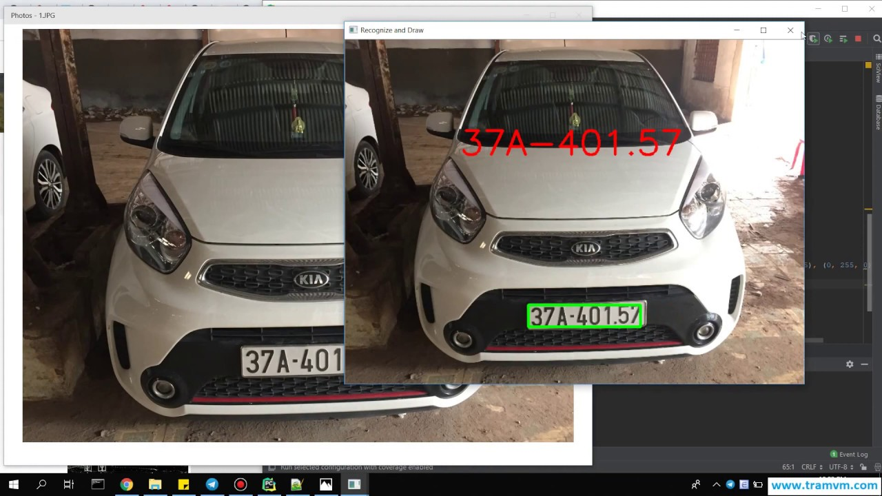 How to Recognize License Plate with Python OpenCV Machine learning?