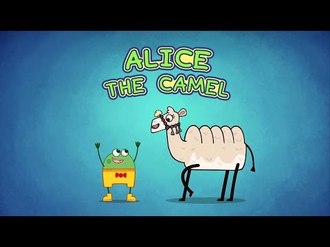 Alice The Camel | Nursery Rhymes and fun songs for Kids | Hogie the Globehopper