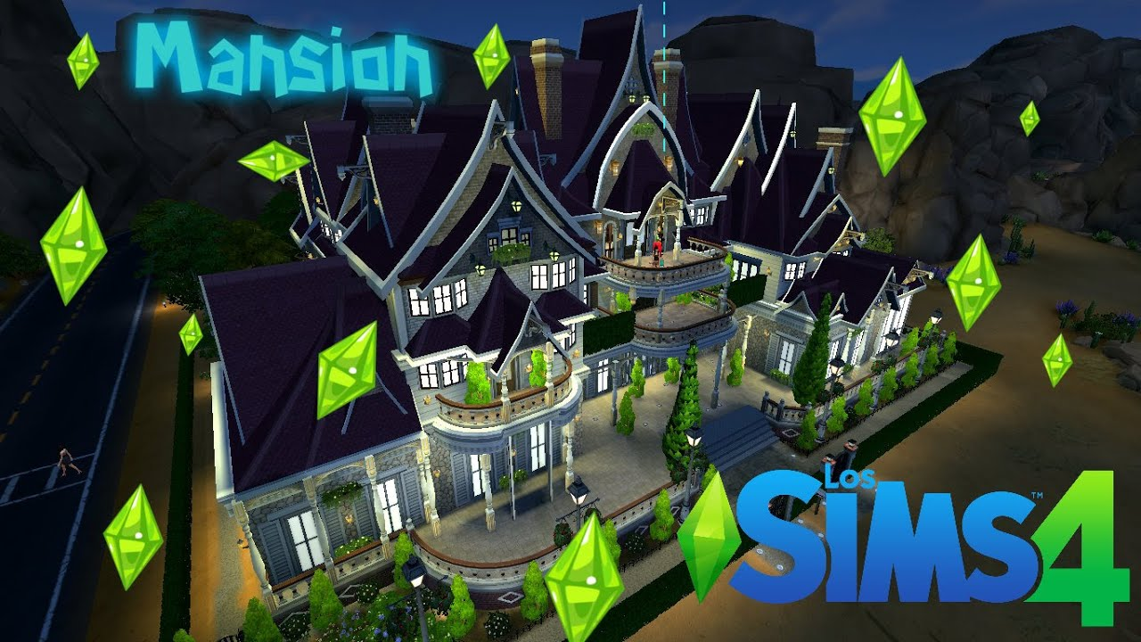 sims creando casasla mejor mansion de todos los sims como es la decoracion de una mansion youtube