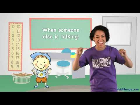 Interrupting Song   Music for Classroom Management
