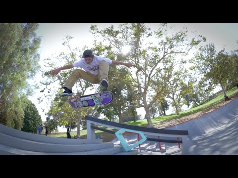 Chris Joslin skates Diamond Park and Hollenbeck Park