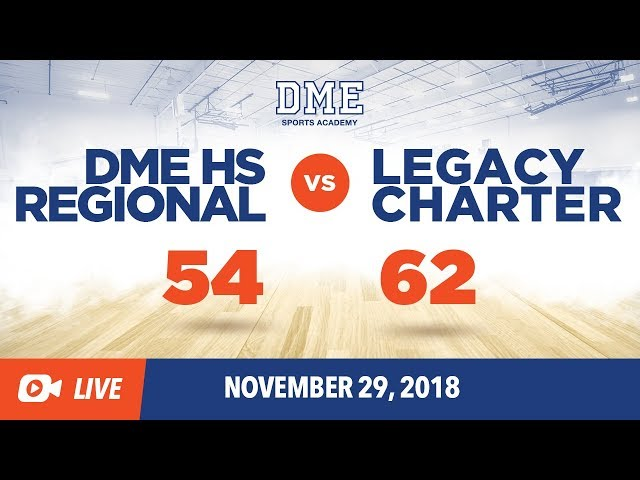 DME HS Regional Vs. Legacy Charter