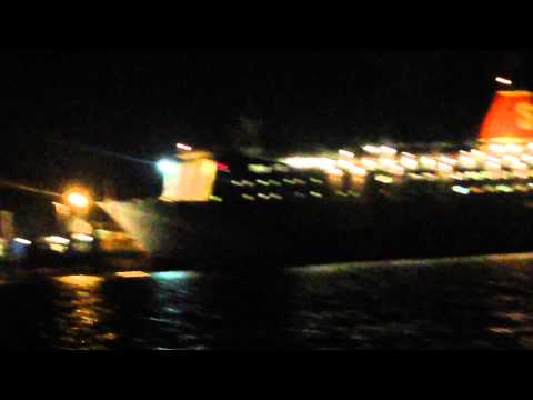 Stenaline Ferry - At night