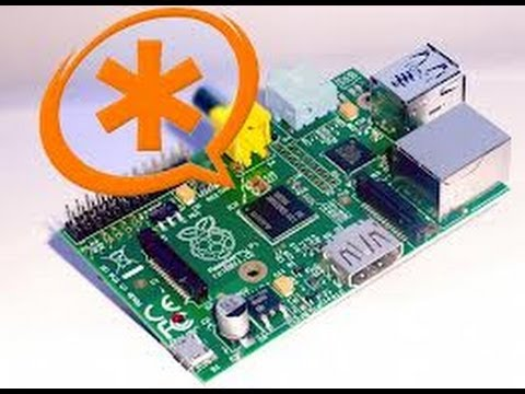 Raspberry PI to PBX Basic Install (Asterisk) Phone Server