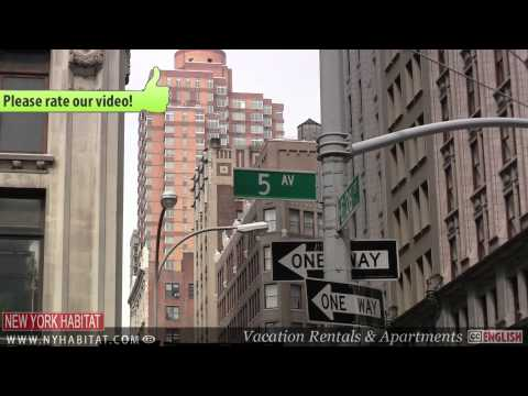 New York City - Video tour of Flatiron District, Manhattan (Part 1)