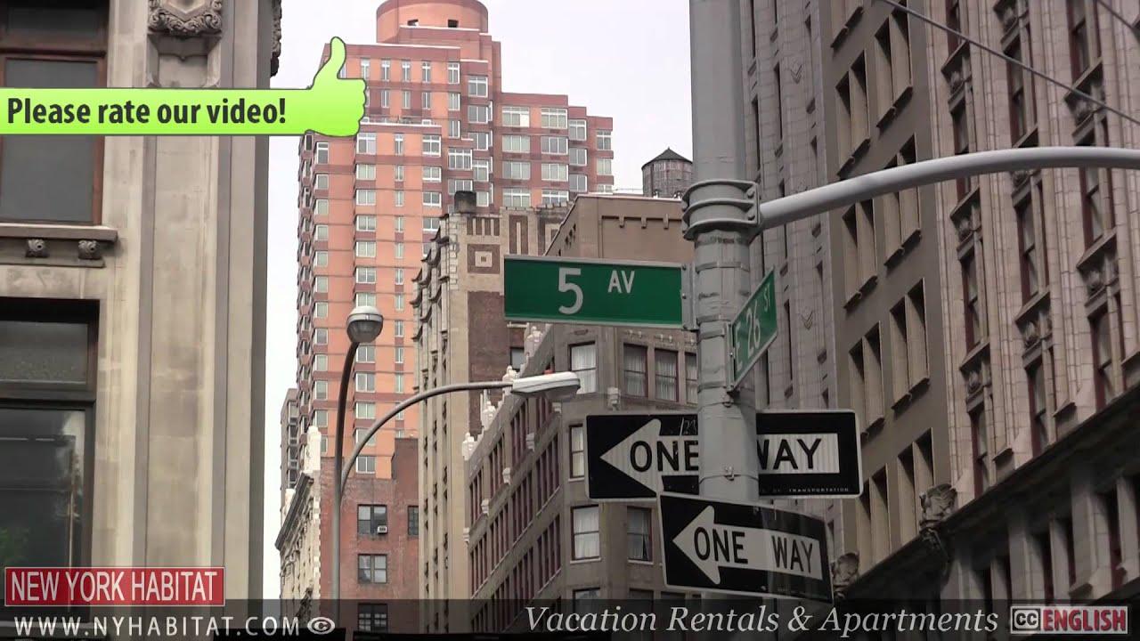 new york city video tour of flatiron district manhattan part 1