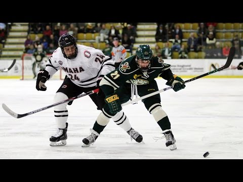 Men's Hockey: #20 Vermont vs. #3 Omaha (10/16/15)