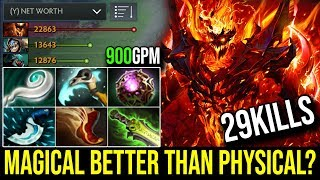 Super Magical [Shadow Fiend] Magical is Better Than Physical 29Kills 900GPM 7.19c | Dota 2 FullGame