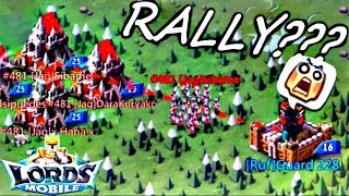 Lords mobile-KVK, 16 замок принял сбор/ 16 сastle accepted the rally
