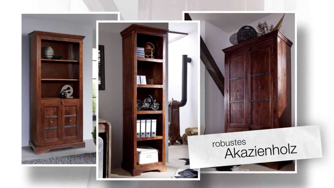 b rom bel im kolonialstil aus massivholz von www. Black Bedroom Furniture Sets. Home Design Ideas
