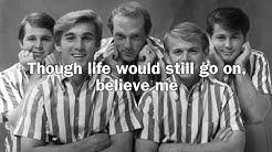 Beach Boys - God Only Knows lyrics (Lyric Video)