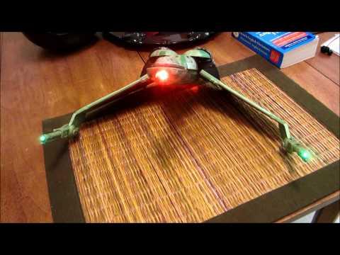 Star Trek Diamond Select Klingon Bird of Prey - HMS Bounty - Unboxing & Review