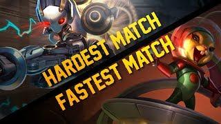 Vainglory YoloQ - Ep 49: FASTEST/HARDEST MATCH EVER!! Petal/Alpha Jungle Gameplay
