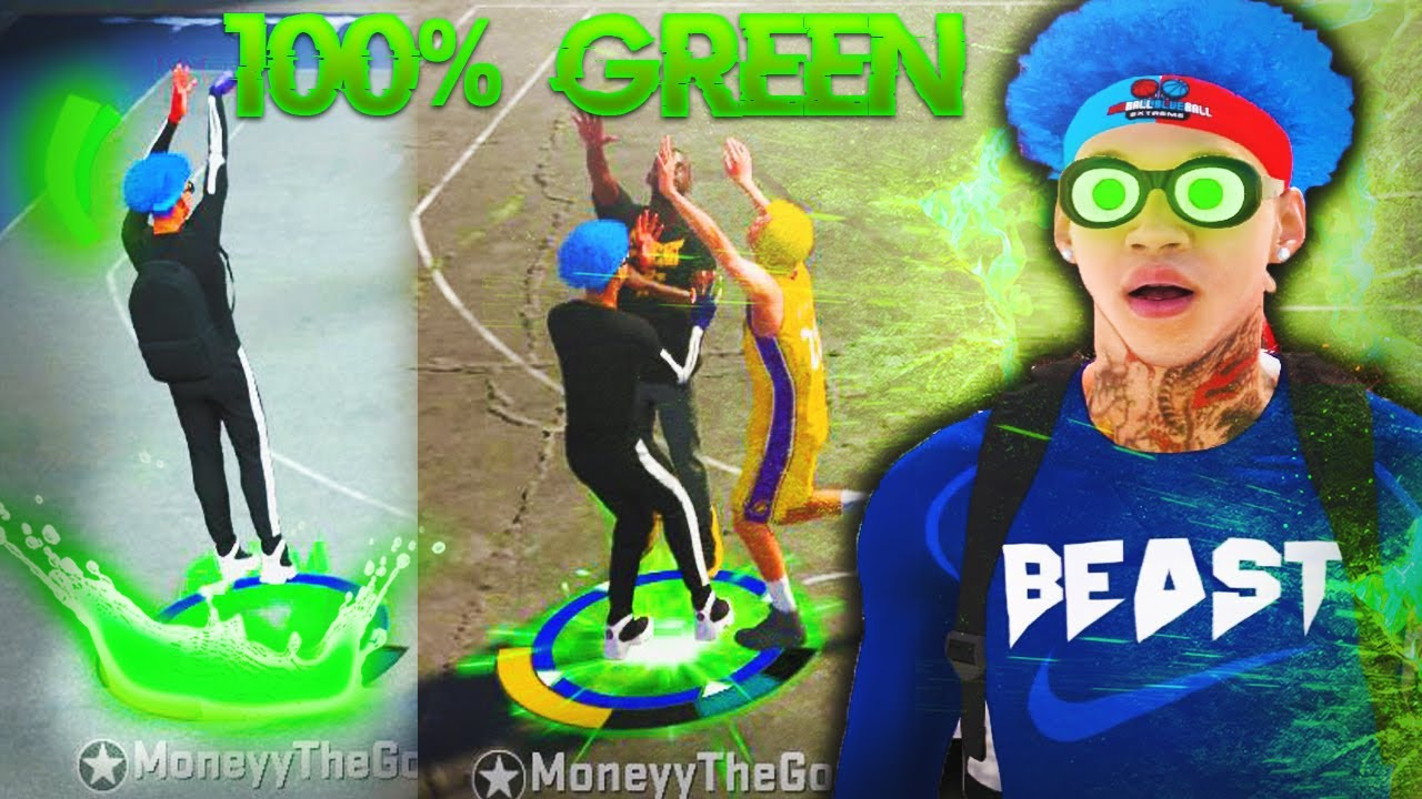 THIS NEW UNSTOPPABLE JUMPSHOT MADE MY PURE SHARP A GREEN MACHINE! NBA 2K20 100% BEST JUMPSHOT!