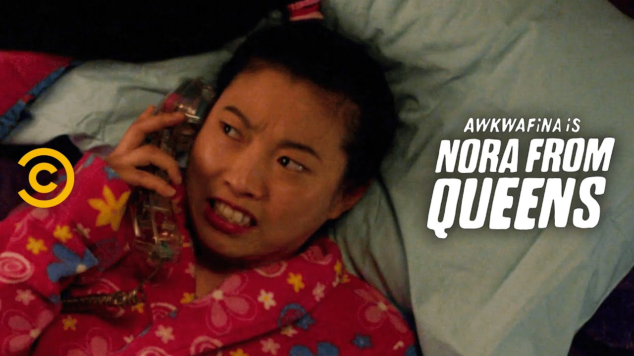 Nora Finds Help on a Phone Sex Hotline - Awkwafina is Nora from Queens