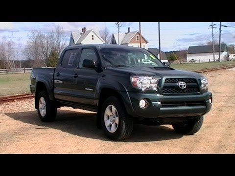 Awesome 2011 TOYOTA TACOMA TRD SPORT DOUBLE CAB 4X4 400W OUTLET 20 MPG  WWW.NHCARMAN.COM.MOD