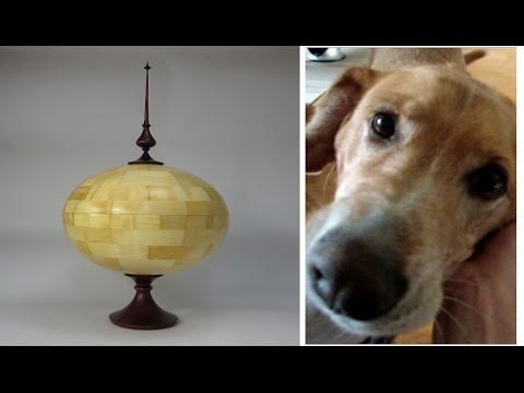 Woodturning - Maddy's Urn