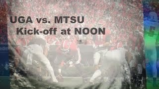 GEORGIA VS MIDDLE TENNESSEE STATE HYPE & HATE ?