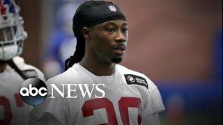 Police investigate body found inside NFL star