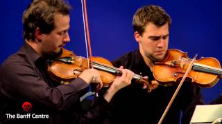 BISQC 2013 - Quatuor Cavatine - Beethoven Quartet in B flat Major