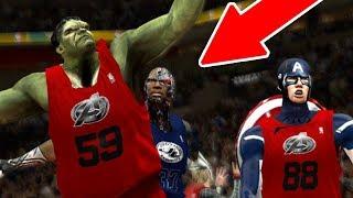 Superheroes VS Villans! NBA 2K18 Challenge