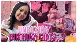 UNBOXING MY BIRTHDAY GIFTS | TYRONIA FOWLER