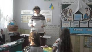 Фрагмент уроку літературного читання у 3 класі