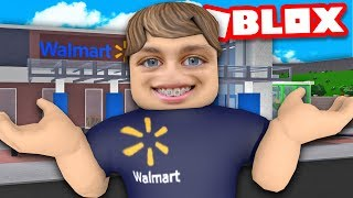 I opened a WALMART in BLOXBURG... and it got shut down