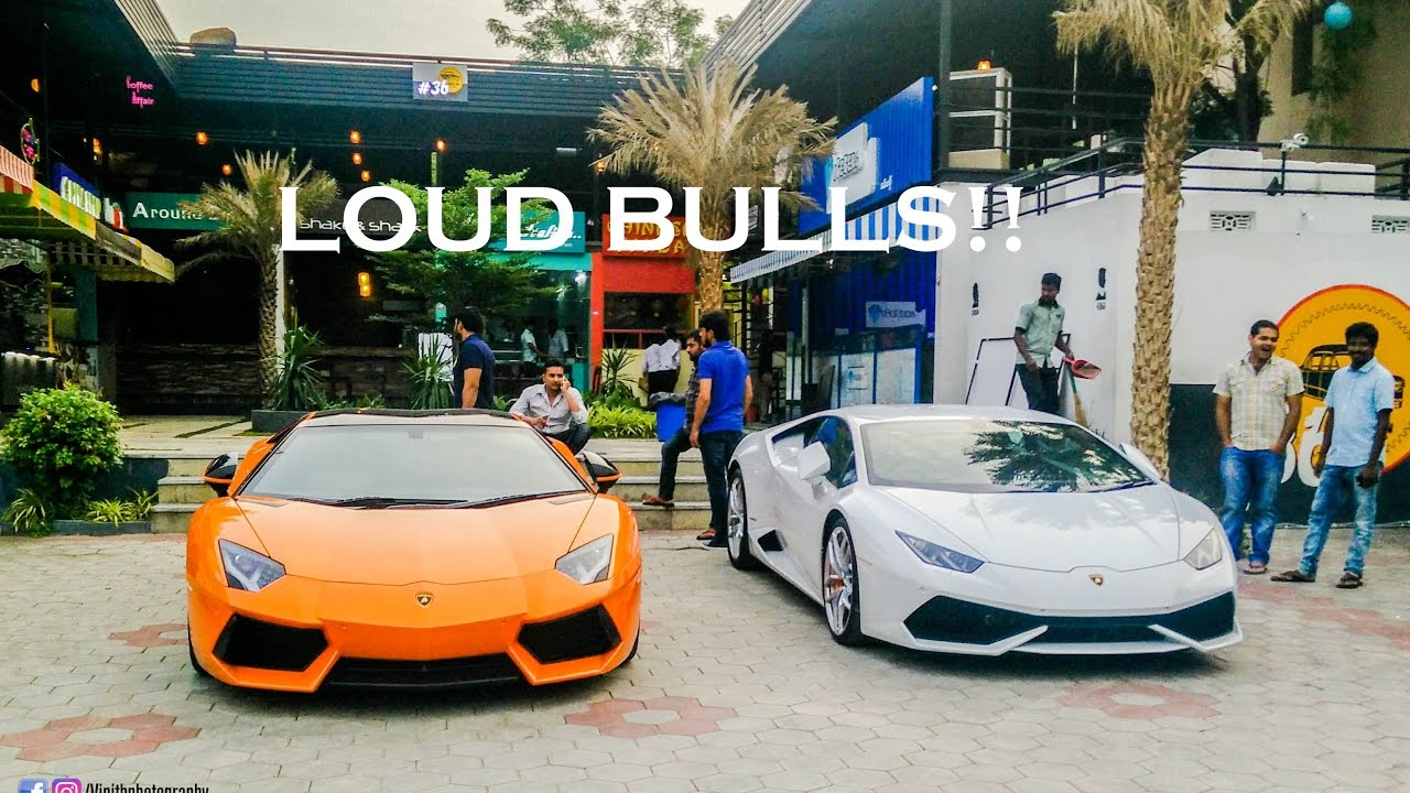 The Lamborghini Brother S Of Hyderabad Aventador And Huracan
