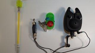 Принцип действия простых и електронних рыболовных сигнализаторов