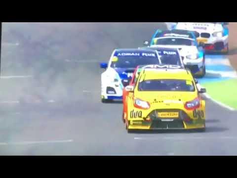 Race 1 Knockhill 13 th August 2017 interview Jason Plato