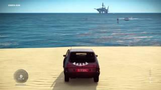 Just Cause 3 Amphibious Car