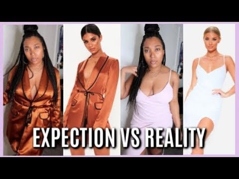 PRETTYLITTLETHING TRY ON HAUL  | EXPECTATIONS VS REALITY | SPRING 2019 | Plus Size 12