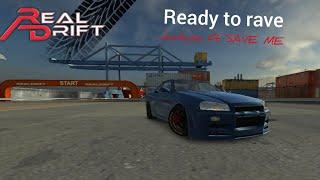Nissan Skyline GT-R34 at the docks w/dubstep (Real Drift)